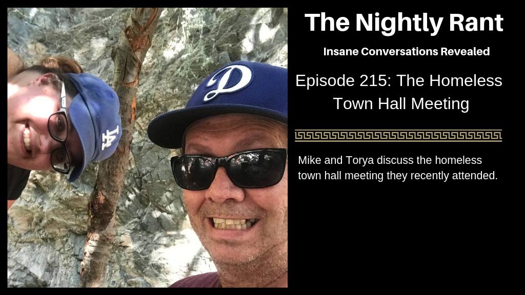 TNR215-Homeless Town Hall Meeting